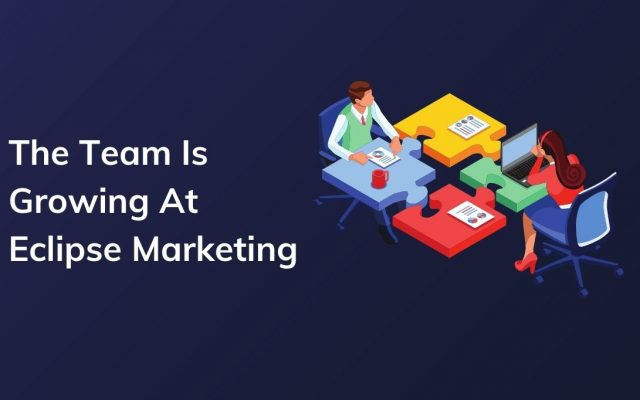 The team is growing at eclipse marketing blog post cover image