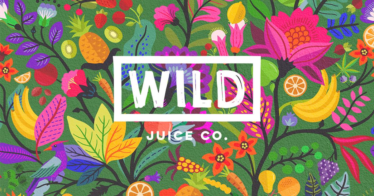 wild juice co logo