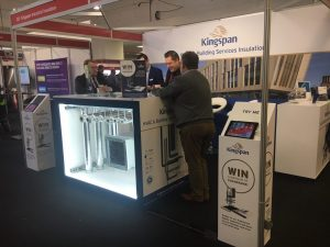 Kingspan and eclipse marketing at Build2Perform trade show