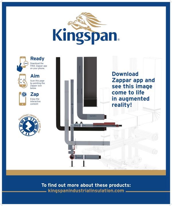 Kingspan augmented reality poster