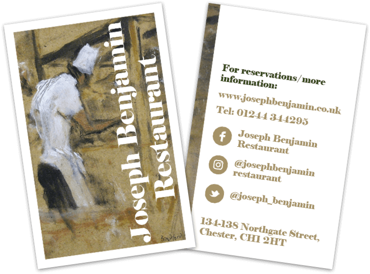 Joseph Benjamin business cards