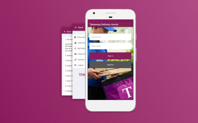 Thorneycroft solicitors mobile app