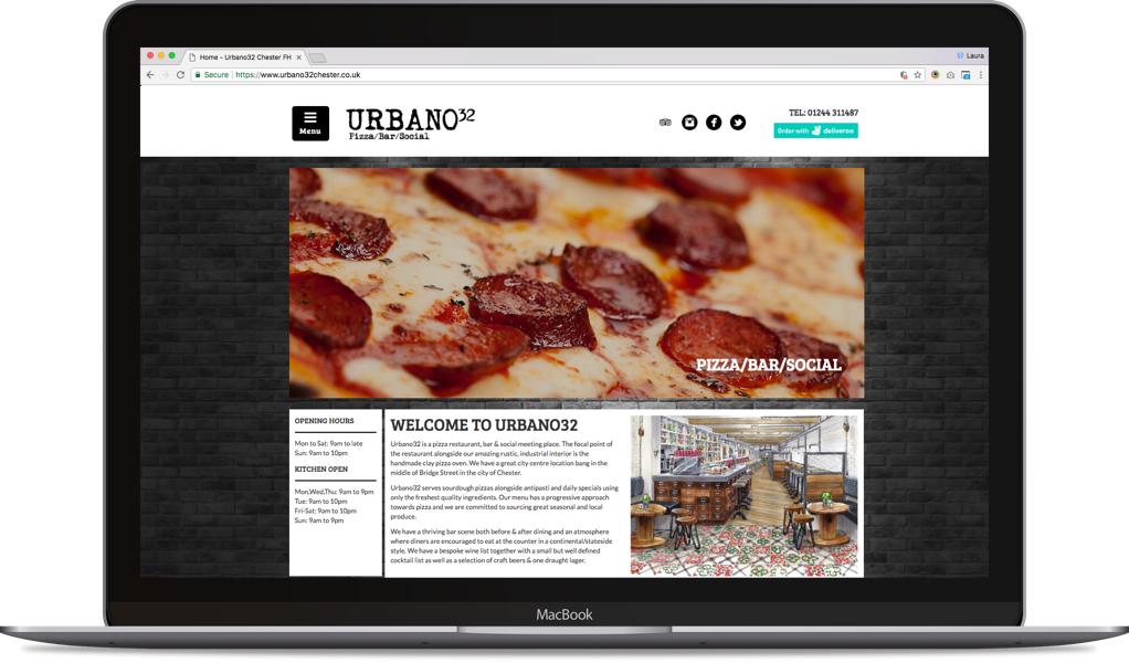 urbano32 website